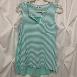 Charming Charlie's Striped Tank Top